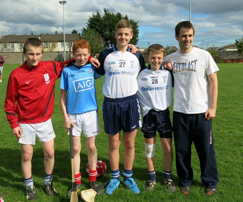 1-Cian Waldron and the Cuala Players
