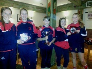 Cuala Camogie Captains