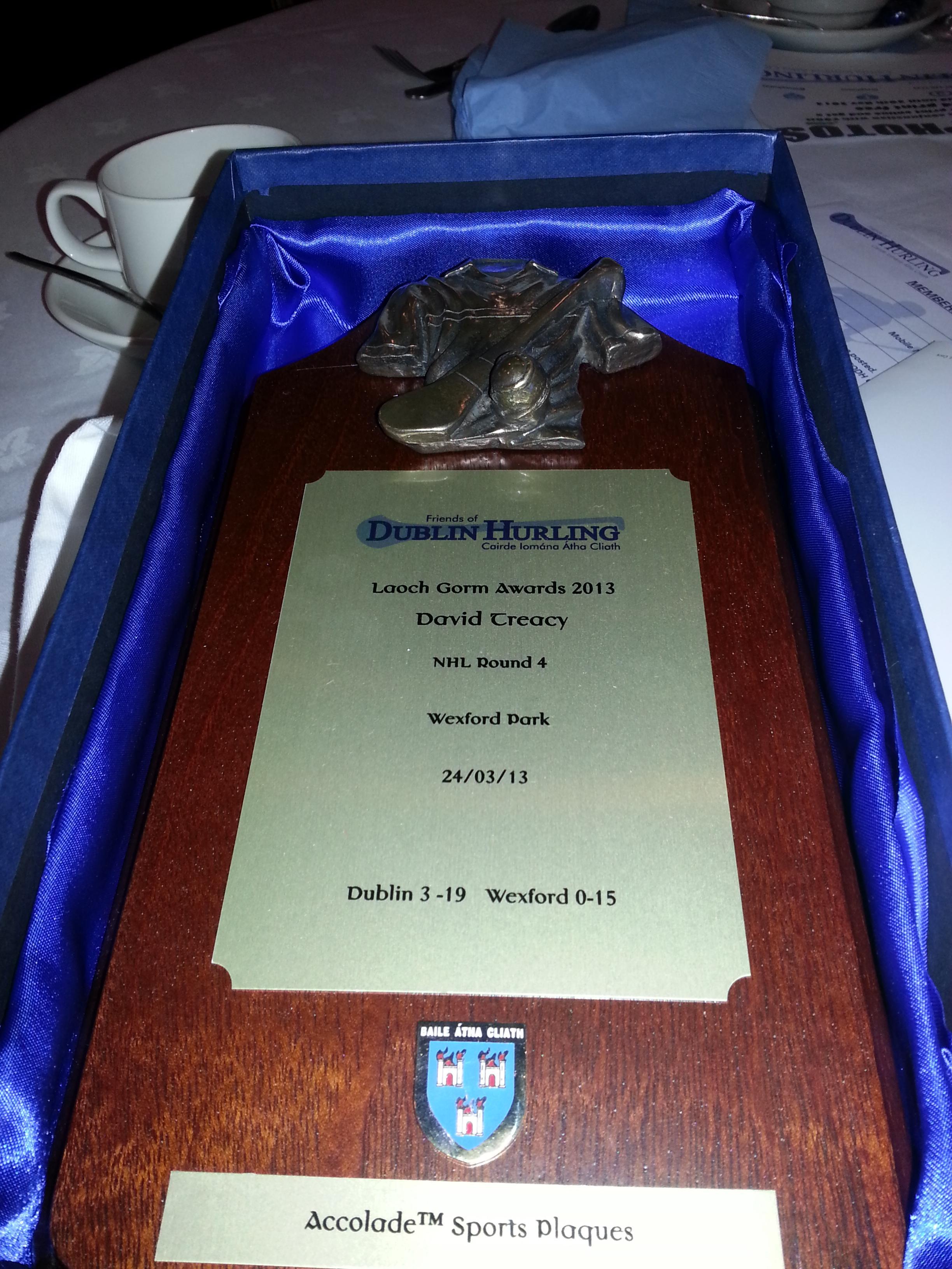 David Treacy Award