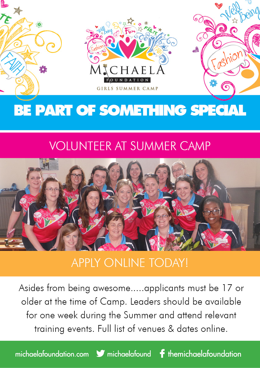 Michaela Dublin Volunteer 2016