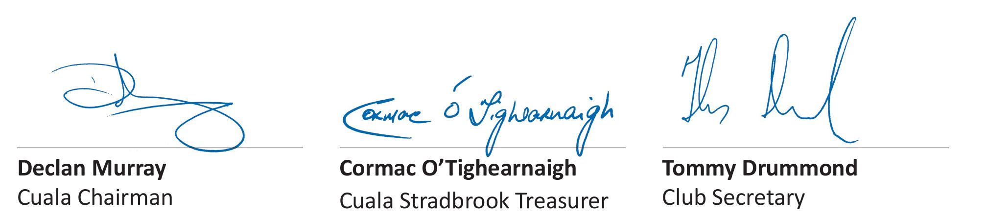 Signature-Strip