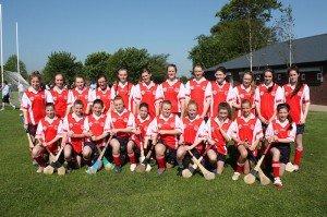 U14 Juvenile Girls Camogie Team