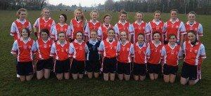 Girlls Feile 2013 Team