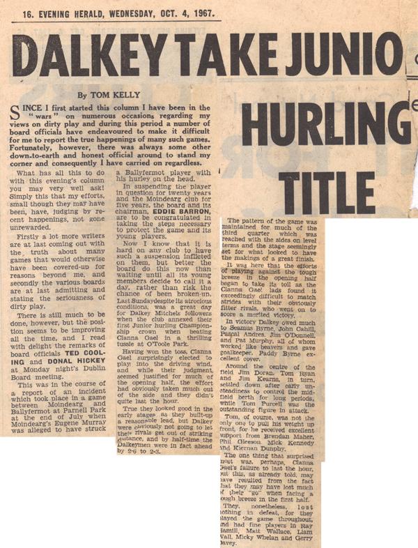 hist_1967_dalkey_mitchels_jhc_title_ev_herald