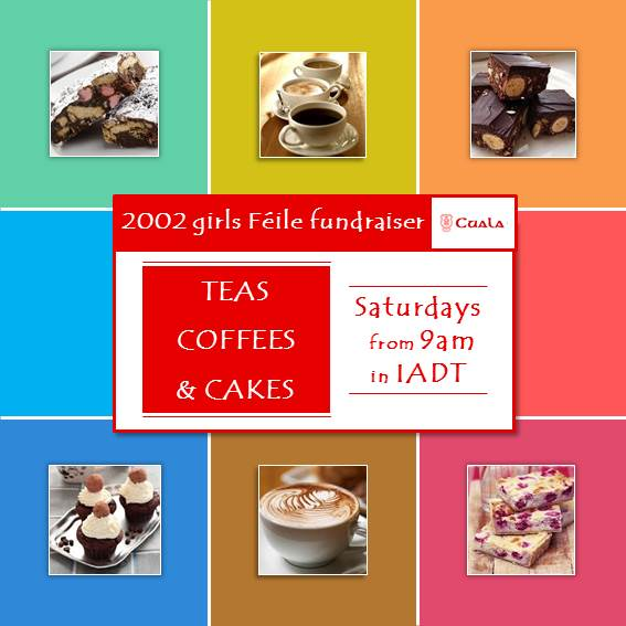 IADT Saturday mornings teas and coffees